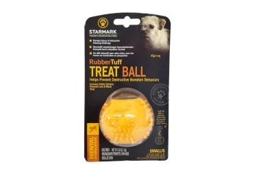 Starmark Rubber Tuff Treat Ball