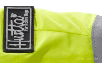 Hundejacke neongelb, Lifeguard