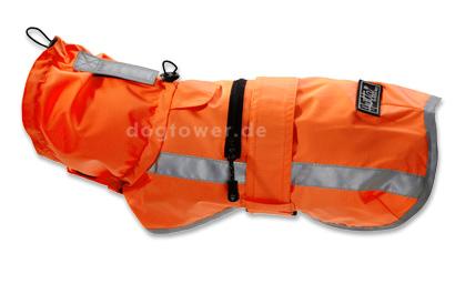 Hurtta Lifeguard Sturm Hoodie neonorange