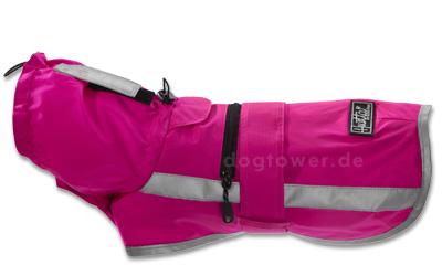 Hurtta Lifeguard Sturm Hoodie Hundejacke neonpink