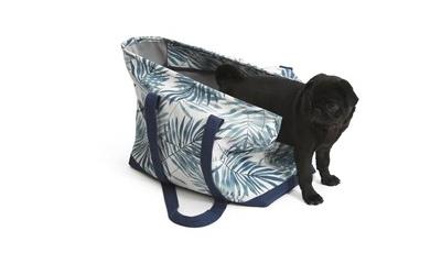40 x 20 x 32 cm große Hundetragetasche im Summer Design