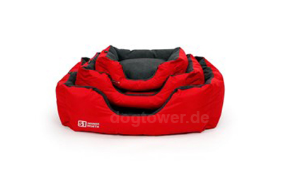Surplus Storm 51DN Degrees North Soft Hundebett, feuerrot