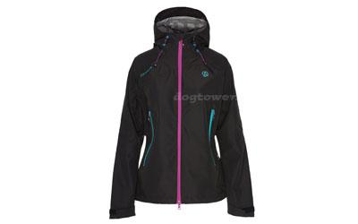 Ternua Shatior Damen Outdoorjacke mit Primaloft®, schwarz/türkis/pink