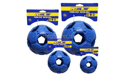 Turbo Kicker Soccer Ball in blau
