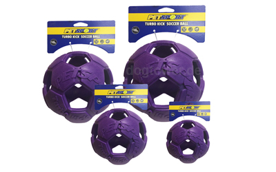 Turbo Kicker Soccer Ball in lila