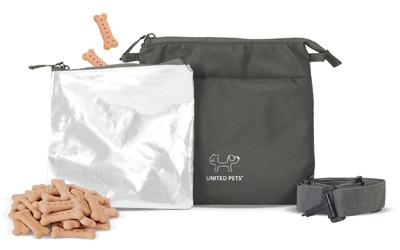 Perfekt für Hundeleckerlies, separate Tasche - kein Fetten
