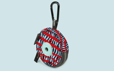 United Pets Complete Me Poop-bag zebra-striped