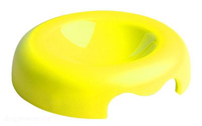 United Pets Kunststoff- Napf, neongelb