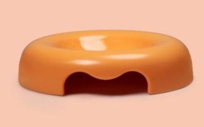 United Pets Kunststoff-Napf orange