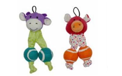United Pets PetzPoint Bark-a-Boo Cao-Milla & Mr. Pig Hundespielzeug