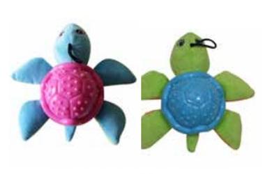 United Pets PetzPoint Bark-a-Boo Rina-Turtles Hundespielzeug