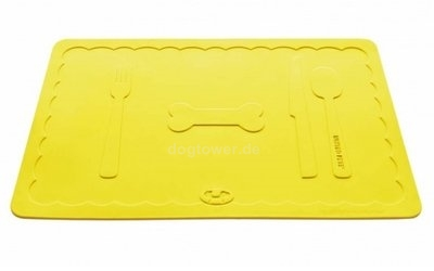 Napfunterlage Mustafa Slim, gelb