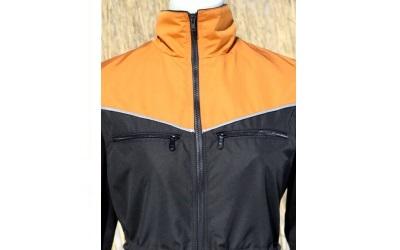 V Trainings Weste von Helsitar® schwarz/orange