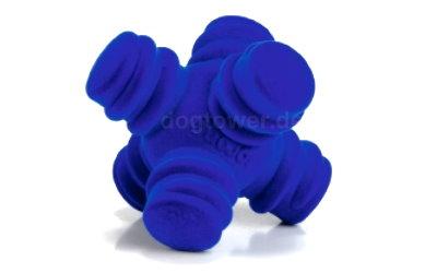 Hundespielzeug Sprong Cross in blau