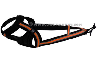 Weltmeisters Dogfood Dogsport FASTER Zuggeschirr, orange