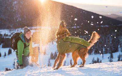 Mit Ruffwear unbeschwert den Winter genießen