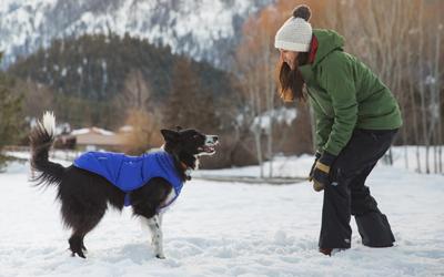 Warmer Schutz bei Schnee und Kälte