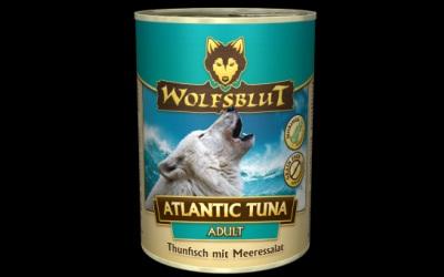 Wolfsblut Atlantic Tuna Adult Nassfutter für Hunde mit Thunfisch und Meeressalat