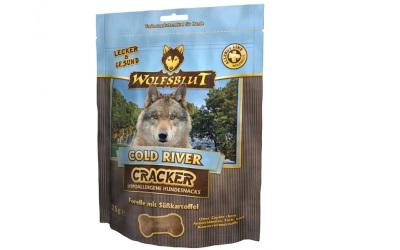 Wolfsblut Cold River Cracker für Hunde mit Forelle
