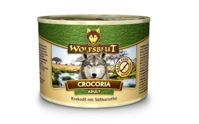 Wolfsblut Crocoria Adult Nassfutter für Hunde mit Krokodil