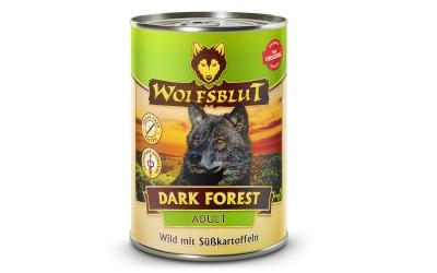 Wolfsblut Dark Forest Adult Nassfutter für Hunde mit Wild