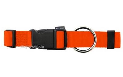 Hundehalsband Basic, Wolters, orange