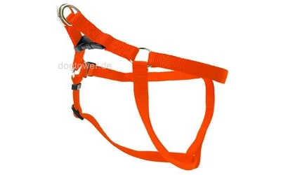 Wolters Hundegeschirr Basic OneTouch, orange