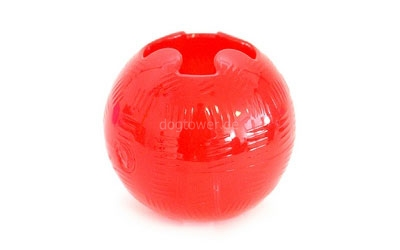 Spielball in rot