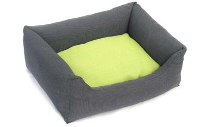 Wolters Cat & Dog Hundebett Kuschel-Lounge Royal Dreams, anthrazit/kiwi