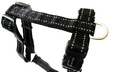 Wolters Hundegeschirr Soft & Safe Professional in schwarz