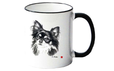 Tasse mit Chihuahua Motiv