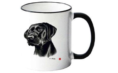 Tasse mit Labrador Motiv