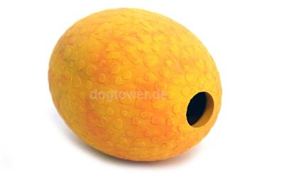 Straußenei in mango
