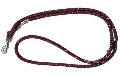 Wolters Reflektor-Führleine Everest, rot-schwarz