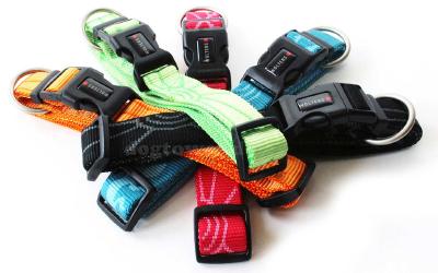 Farbenfrohe Nylonhalsbänder aus der Wolters Kollektion