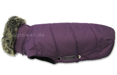 Wolters Hundemantel Parka, pflaume
