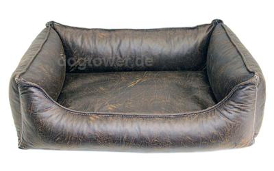 Wolters Senator Lounge Hundebett, antik-braun