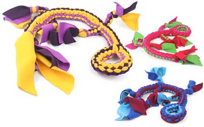 Apportier- und Zerrspielzeug Tom aus Fleece
