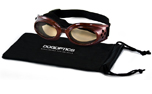 Sunglasses Dogoptics Hundebrille Ibiza Brown frame Brown lens