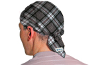 Aqua Coolkeeper Kopftuch Cooling Bandana / Scullycap, scottish gray