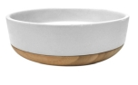 51DN Dinner Bowl Osaka White/Wood