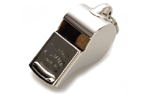 ACME Thunderer Trillerpfeife (Messing, vernickelt) No. 58