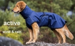 ACTIVE cape WIND & RAIN Regenjacke, dark blue