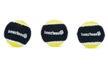 Beeztees Fetch Sponge Hundeball, schwarz/gelb