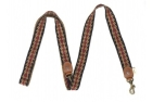Buddys Dogwear Peruvian Arrow blue adjustable dog lead