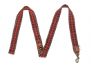 Buddys Dogwear Peruvian Arrow Orange Adjustable Lead