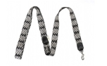 Buddys Dogwear Peruvian black adjustable dog lead
