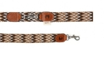 Buddys Dogwear Peruvian brown adjustable dog lead
