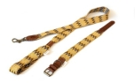 Buddys Dogwear Peruvian Gold adjustable dog lead