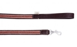 Buddys Dogwear Reforce Brown dog lead